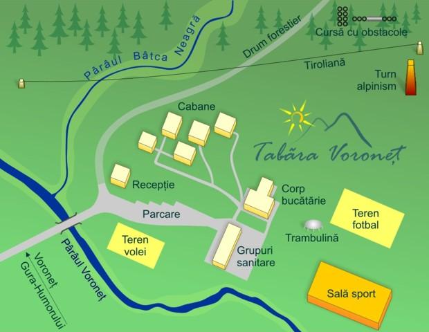 Harta Cristia Voronet